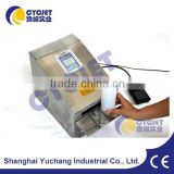 CYCJET Small Inkjet Printing Machine/Inkje Printer for Plastic Bag/Industrial Marking Equipment