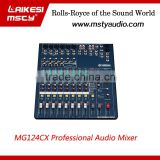 MG124CX digital audio mixer console