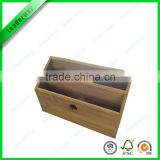 Nature bamboo office desk organizer