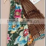 Wholesale Fashionable Cotton Scarf Flower Printed Cotton Scarfs