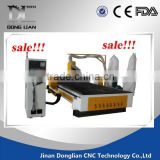2016 design jinan donglian ATC cnc router customized spindle motor used axyz 3d best price