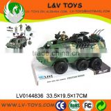 Hot-selling plastic friction military tanks toys