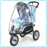 Eco-friendly outdoor rain cover for baby stroller