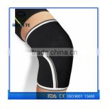 Amazon hot selling professional neoprene 7mm knee sleeve for crossfit, powerlifting, squat