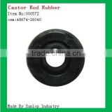 toyota spare parts #000572 hiace castor rod rubber suspension bush arm bushing for toyota hiace 2005 48674-26040