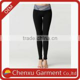 best selling products black slim cut yoga pants sports wear