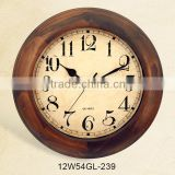 Big Gift wooden Craft Cheap Factory Price Hanging Promotional Clock Wall