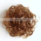 Elastic Curly Synthetic Hair Donut Bun