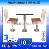 High Quality Fashion Caffee Table And Chair Soft High End PU Leather Chair Dining Table Sets High Quality School Desk Prices