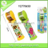 new design colorful plastic promotion kaleidoscope toy for sale