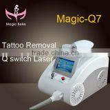 The powerful system of simple operation!!!tattoo removal machine/ nd yag laser/ CE certification