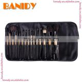 Private label factory wholesale 15pcs your own brand makeup brushes set cosmetic brushes set