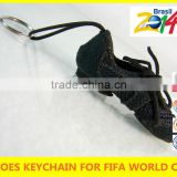 World cup 2013 Hot sale baby shoe keyring