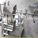 stainless steel wine filter press