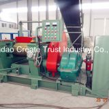 rubber crusher machine/rubber cracker mill for waste tire recycling