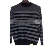 High Quality male sweaters knitted mens jumper O-neck 100% cashmere sweater men(BKNM008)