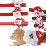 hand painted bulk christmas plush toy christmas ornament and gifts like watch on your hands for kids