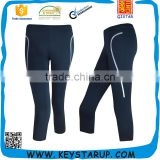 Workout knee length Yoga Pants Active Wear Yoga Capri Pants