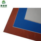 Contempory PVC film cladding decorative board for hotel lobby
