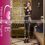In stock Sexy Bodystocking Nera girl underwear&sexy ladies underwear sheer nylon bodystocking