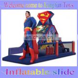 Superman inflatable obstacle courses for fun