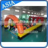 Factory price derby racing / inflatable horse racing / pony hops race track