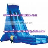 Amusement Park Wave Inflatable Double Line Water Slide ID-SLL007