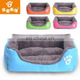 wholesale low price candy colors dog bed all sizes indoor pet kennel
