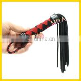 genuine leather whips and floggers