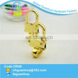 Exclusive customized new fashion gold small dog hook