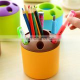 Cheap custom promotional plastic pen holder
