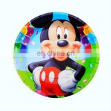 "Promotional cheap 7"" round disposable party plates,dinner plates"