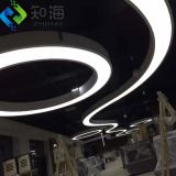 led light box fireproof suspended soft 3d pvc stretch ceiling