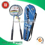 Advertising Logo Printed Custom Wholesale cheap badminton rackets