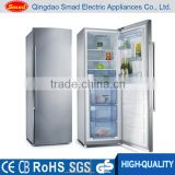 189L double door frost free compressor cooling upright refrigerator fridge