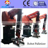 Palletizing robot price, stacking and palletizing crane robot with automatic controller system