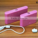 2014 china manufacturer disposable power bank hand warmer power bank