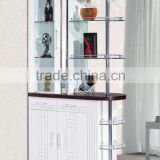 Hs KV317, Malaysia Singapore divider cabinet, Living Room divider cabinet model 2016, divider & display cabinet, white
