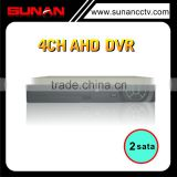 China Top DVR brands 4CH FHD 1080P Rohs AHD-H DVR Support Car Camera and DVD/CD-WR