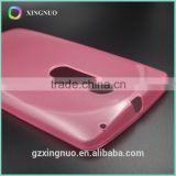Best products slim soft pink clear case for Moto X Play
