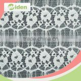 Unique lace tulle curtain fabric flower pattern tricot knit tulle lace fabric                                                                                                         Supplier's Choice