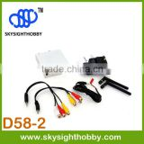 D58-2 DUO5800 5.8Ghz 32CH Wireless AV FPV Diversity Receiver hdmi wireless transmitter and receiver