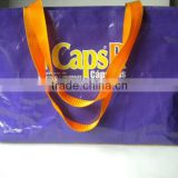 130G PP woven shopping bag promotional bag gift bag handle bag reuseable bag