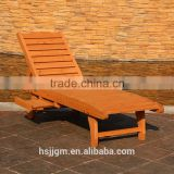 outdoor wooden swimming pool chaise lounge chair