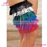Wholesale 6 color leg sexy lace garter belt for women
