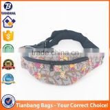 The Wholesale Mobile Phone Bags Type Bird Pattern Canvas Waist Bags