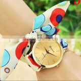 Customized ribbon band fashion promotional quartz silicone wrist watch                                                                         Quality Choice