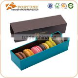 Customized Made Design Paper Gift Macaron Box Packaging                                                                         Quality Choice