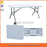 Foldable White Plastic Banquet/Garden Table                                                                         Quality Choice