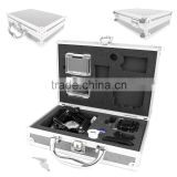Protective Contemporary Aluminium Flight Case With Shock Absorbing Custom Foam Interior For GoPro Headcams Including GoPro Hero